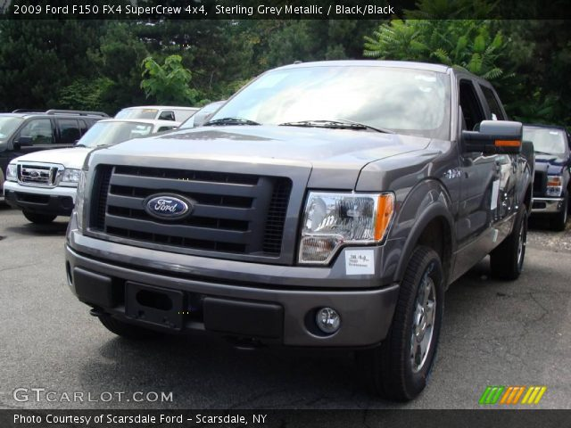sterling grey metallic 2009 ford f150 fx4 supercrew 4x4. Black Bedroom Furniture Sets. Home Design Ideas