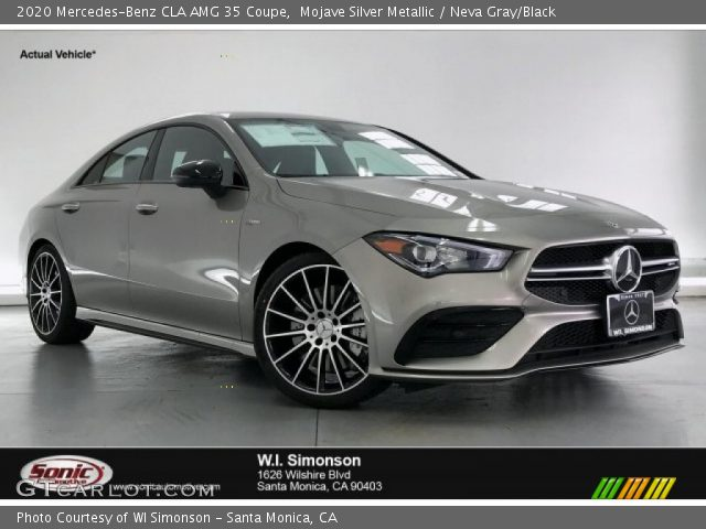 2020 Mercedes-Benz CLA AMG 35 Coupe in Mojave Silver Metallic