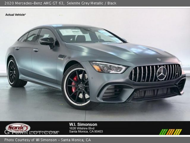 2020 Mercedes-Benz AMG GT 63 in Selenite Grey Metallic