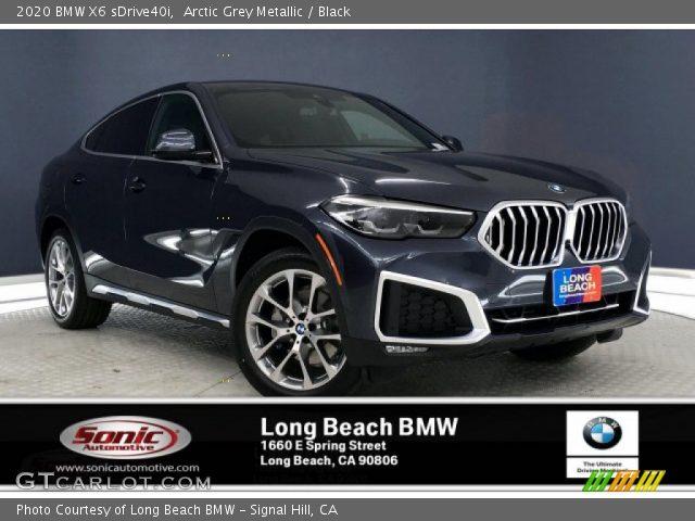 2020 BMW X6 sDrive40i in Arctic Grey Metallic