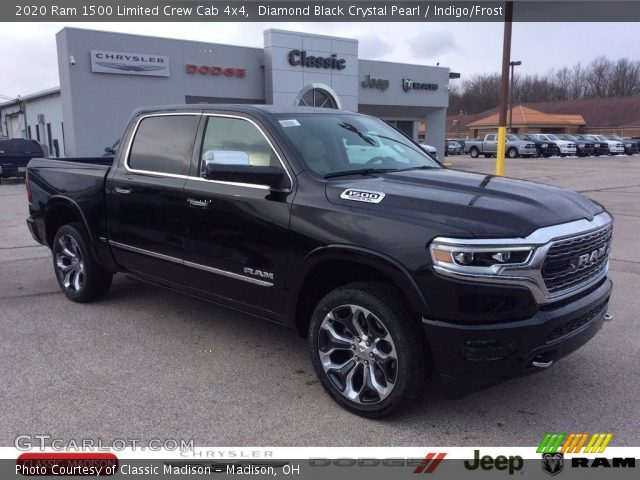 2020 Ram 1500 Limited Crew Cab 4x4 in Diamond Black Crystal Pearl