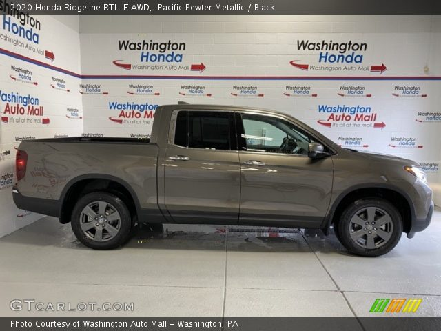 2020 Honda Ridgeline RTL-E AWD in Pacific Pewter Metallic