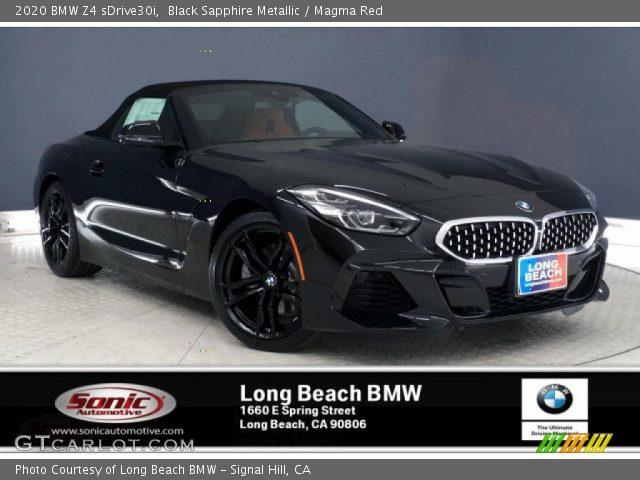 2020 BMW Z4 sDrive30i in Black Sapphire Metallic