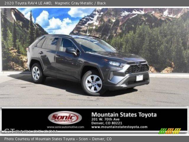 2020 Toyota RAV4 LE AWD in Magnetic Gray Metallic