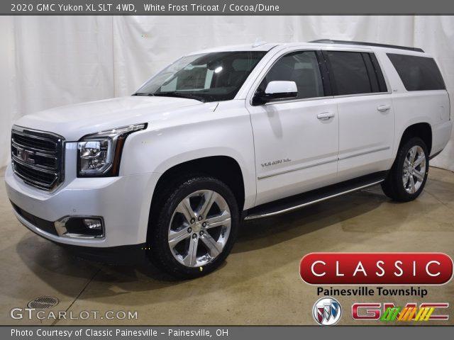 2020 GMC Yukon XL SLT 4WD in White Frost Tricoat