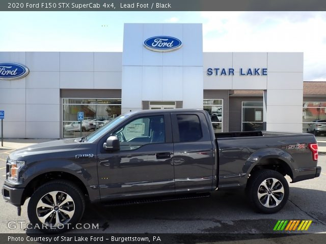 2020 Ford F150 STX SuperCab 4x4 in Lead Foot