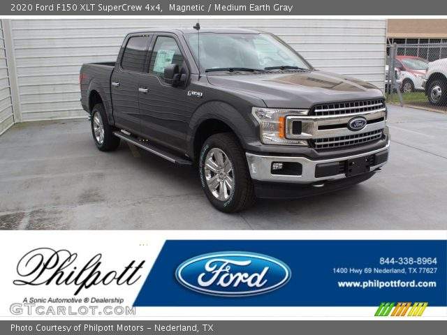 2020 Ford F150 XLT SuperCrew 4x4 in Magnetic