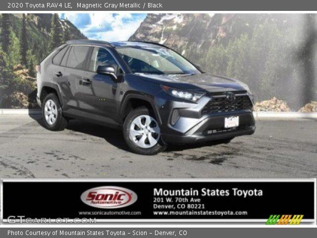 2020 Toyota RAV4 LE in Magnetic Gray Metallic