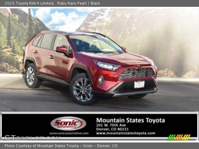 2020 Toyota RAV4 Limited in Ruby Flare Pearl