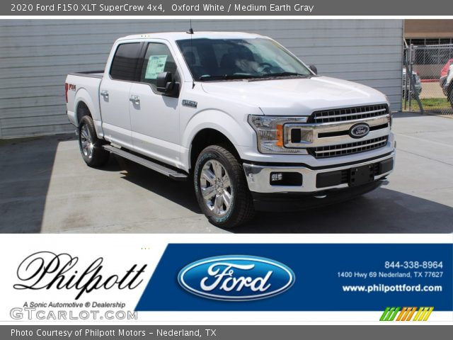 2020 Ford F150 XLT SuperCrew 4x4 in Oxford White