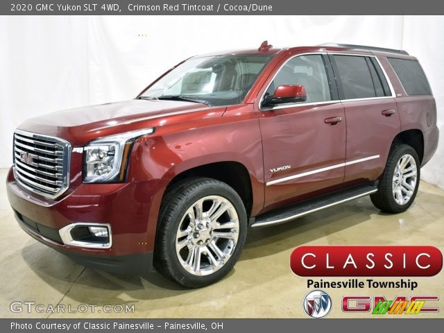 2020 GMC Yukon SLT 4WD in Crimson Red Tintcoat