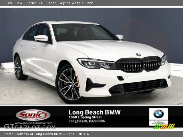 2020 BMW 3 Series 330i Sedan in Alpine White