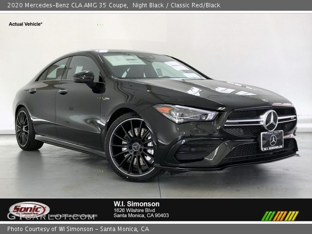 2020 Mercedes-Benz CLA AMG 35 Coupe in Night Black