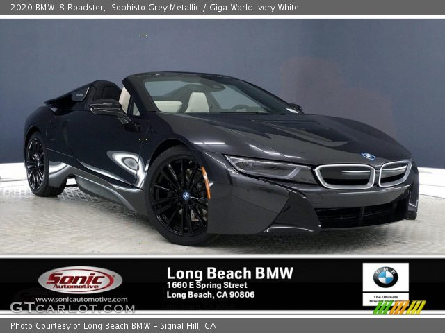 2020 BMW i8 Roadster in Sophisto Grey Metallic