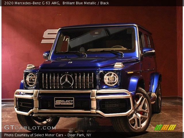 2020 Mercedes-Benz G 63 AMG in Brilliant Blue Metallic