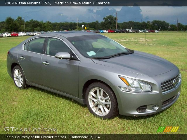 2009 Nissan Maxima 3.5 S in Precision Gray Metallic