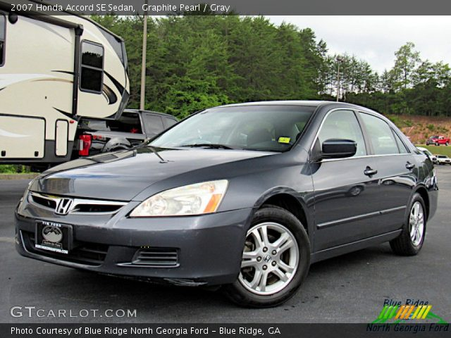 2007 Honda Accord SE Sedan in Graphite Pearl