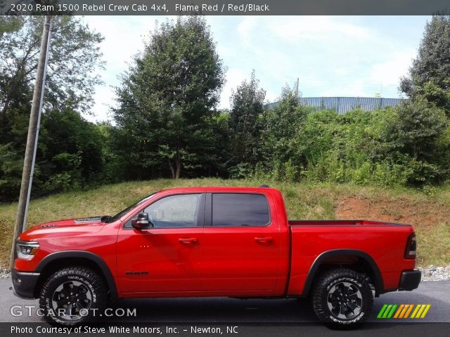 2020 Ram 1500 Rebel Crew Cab 4x4 in Flame Red