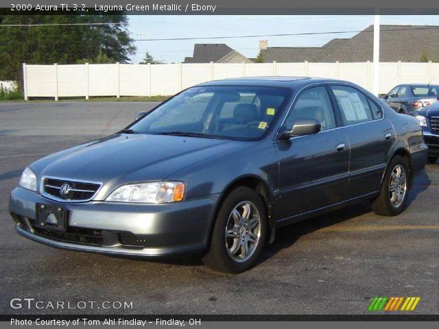 2000 Acura Tl 3 2 >> Laguna Green Metallic 2000 Acura Tl 3 2 Ebony Interior