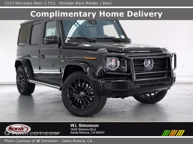 2020 Mercedes-Benz G 550 in Obsidian Black Metallic