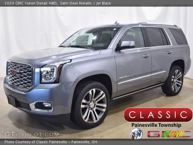 2020 GMC Yukon Denali 4WD in Satin Steel Metallic