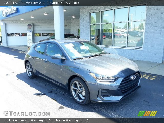 2021 Hyundai Veloster 2.0 in Thunder Gray