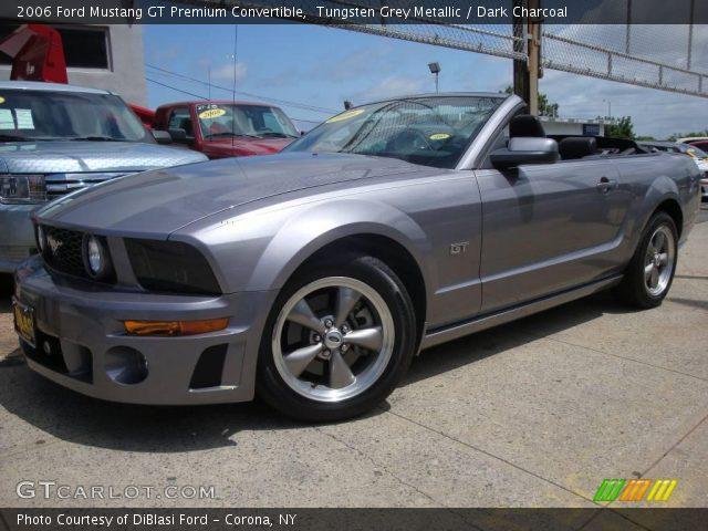 Tungsten Grey Metallic 2006 Ford Mustang Gt Premium