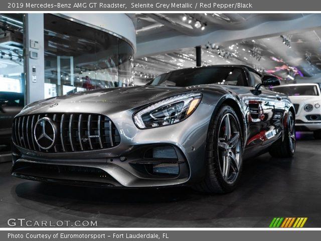 2019 Mercedes-Benz AMG GT Roadster in Selenite Grey Metallic
