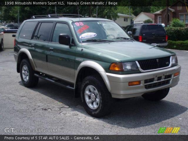 1998 mitsubishi montero sport xls in navajo green metallic - Mitsubishi Montero 1998