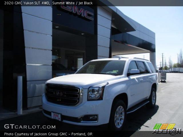 2020 GMC Yukon SLT 4WD in Summit White