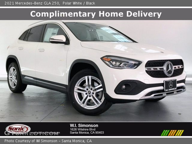 2021 Mercedes-Benz GLA 250 in Polar White