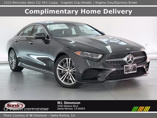 2020 Mercedes-Benz CLS 450 Coupe in Graphite Gray Metallic