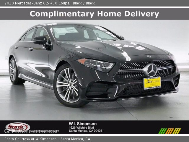 2020 Mercedes-Benz CLS 450 Coupe in Black