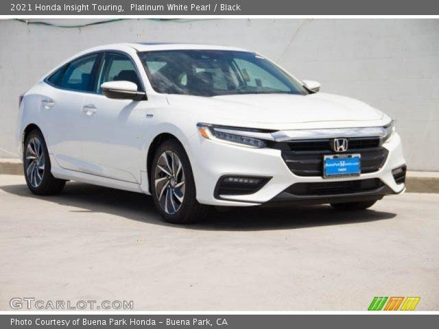 2021 Honda Insight Touring in Platinum White Pearl