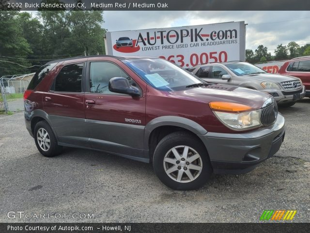 2002 Buick Rendezvous CX in Medium Red