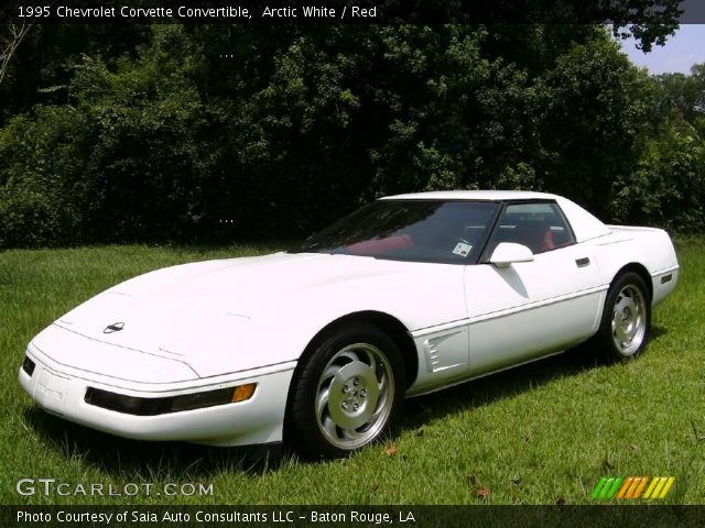 1995 Chevrolet Corvette Convertible in Arctic White