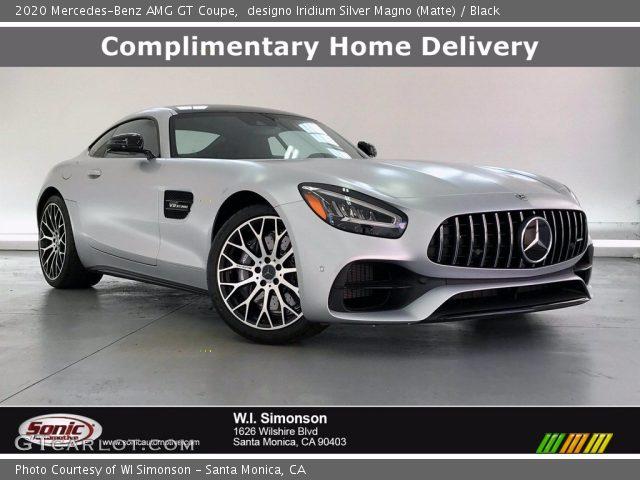 2020 Mercedes-Benz AMG GT Coupe in designo Iridium Silver Magno (Matte)