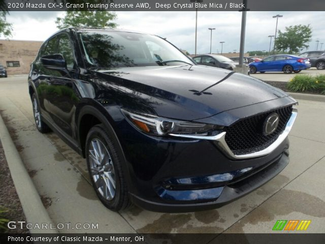 2020 Mazda CX-5 Grand Touring Reserve AWD in Deep Crystal Blue Mica