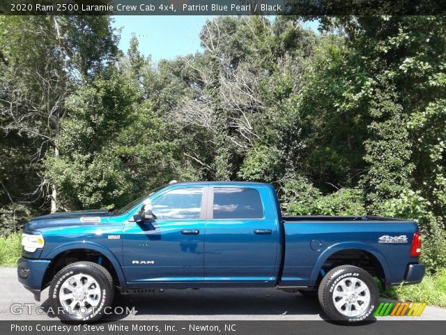 2020 Ram 2500 Laramie Crew Cab 4x4 in Patriot Blue Pearl