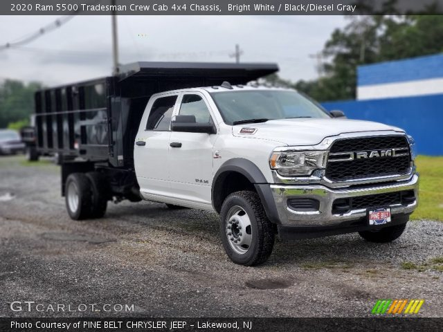 2020 Ram 5500 Tradesman Crew Cab 4x4 Chassis in Bright White