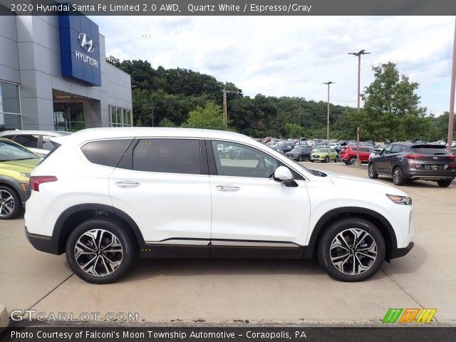 2020 Hyundai Santa Fe Limited 2.0 AWD in Quartz White