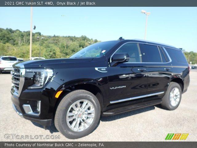 2021 GMC Yukon SLT 4WD in Onyx Black