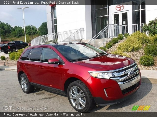 2014 Ford Edge Limited in Ruby Red