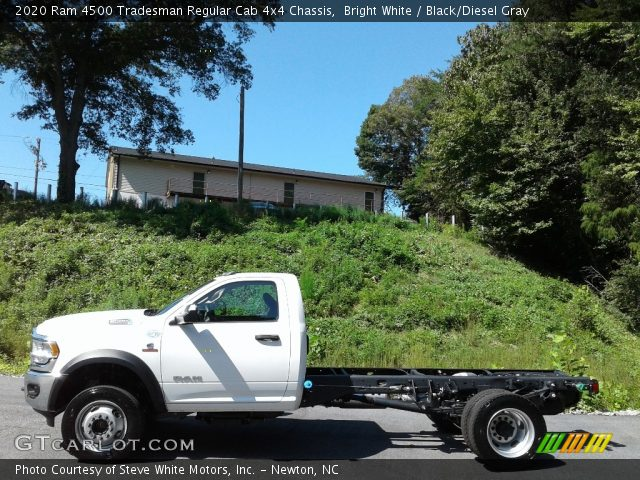 2020 Ram 4500 Tradesman Regular Cab 4x4 Chassis in Bright White