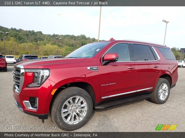 2021 GMC Yukon SLT 4WD in Cayenne Red Tintcoat