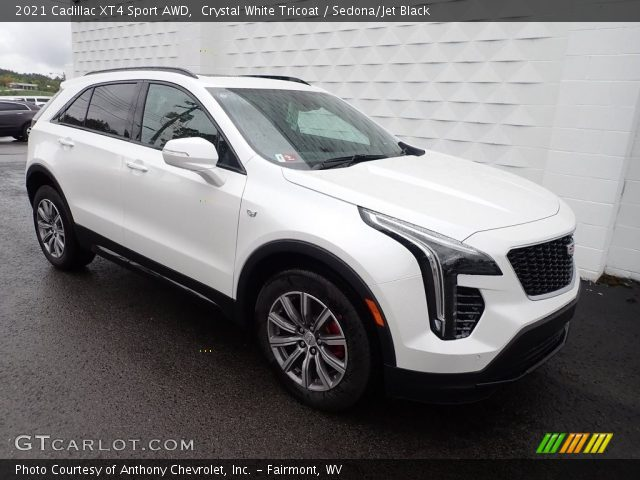 2021 Cadillac XT4 Sport AWD in Crystal White Tricoat
