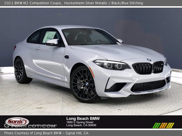 2021 BMW M2 Competition Coupe in Hockenheim Silver Metallic