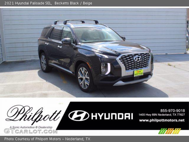 2021 Hyundai Palisade SEL in Becketts Black