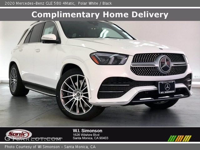 2020 Mercedes-Benz GLE 580 4Matic in Polar White
