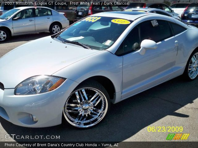 frost white pearl 2007 mitsubishi eclipse gt coupe. Black Bedroom Furniture Sets. Home Design Ideas